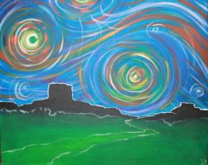 Starry Desertscape